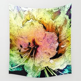Painted Himalayan Rhodo Wall Tapestry