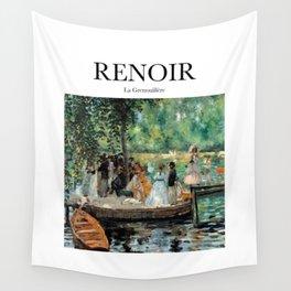Renoir - La Grenouillère Wall Tapestry