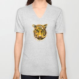 Tiger - King of India Unisex V-Neck