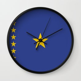 Kinshasa ethnic flag Wall Clock