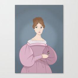 1830s Portrait Canvas Print