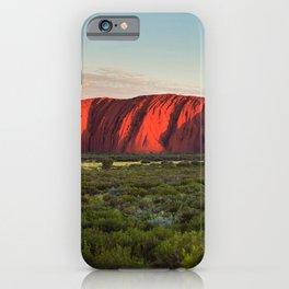 Uluru, Australia iPhone Case