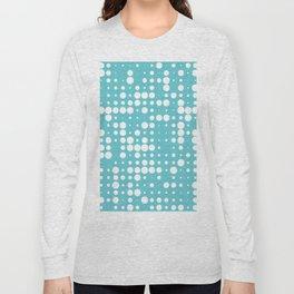 white polka dots Long Sleeve T-shirt
