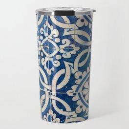 Vintage portuguese azulejo Travel Mug