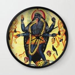 Hindu Kali 18 Wall Clock