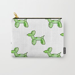 Green Watercolor Balloon Dogs! Carry-All Pouch