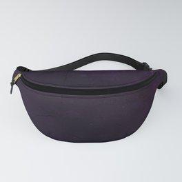 Purple Grunge Fanny Pack