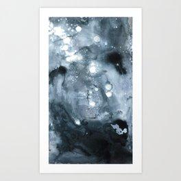 Terran Moon Art Print