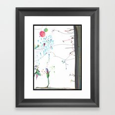 Secret Place Number 552 Framed Art Print