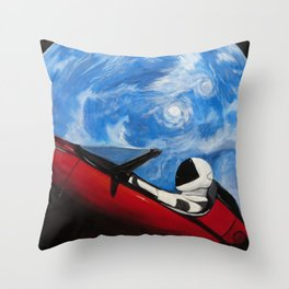 Starman 2 Throw Pillow