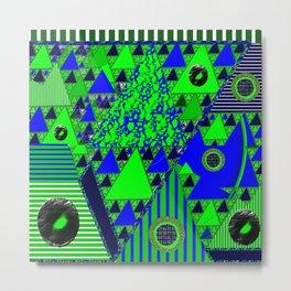 Bluegreenrange Metal Print