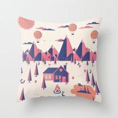 Retreat Throw Pillow
