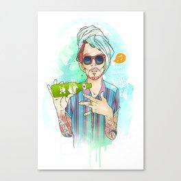 squirt Canvas Print