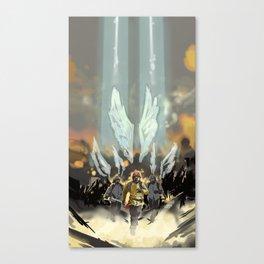 Skyward Angels Canvas Print