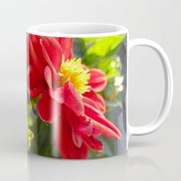 Red Dahlia Dahlietta Coffee Mug
