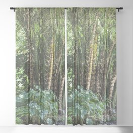 Palm Grove Sheer Curtain