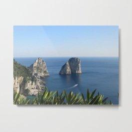 I Faraglioni di Capri Metal Print