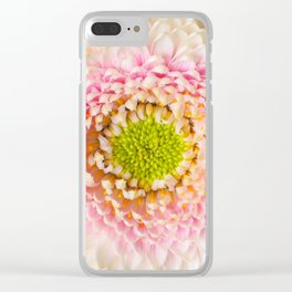 Chrysanthemum close-up Clear iPhone Case