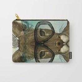 Skuba Roo and a white mouse Carry-All Pouch
