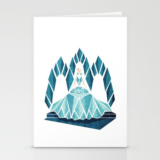 Waiting ( The Snow Queen ) Stationery Cards