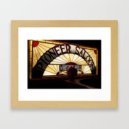 Pioneer Saloon  Framed Art Print