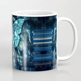 ButterFly Glitch Coffee Mug