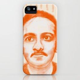 Portrait of Jibananda Das iPhone Case