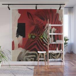 Zebra 4.0 Abstract Art Wall Mural