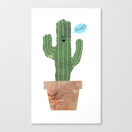 Hug? Canvas Print