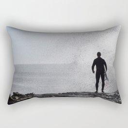 no fear Rectangular Pillow
