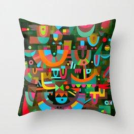 Schema 7 Throw Pillow