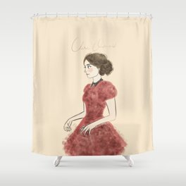 the impossible girl Shower Curtain