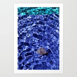 Upward Amethyst Vibes Art Print