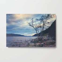 Daylight Leaving Loch Ness Metal Print