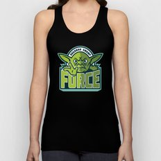 Dagobah Swamp Force - Teal Unisex Tank Top