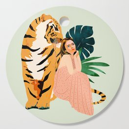 Tiger Spirit Cutting Board