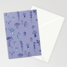 Mushrooms dream Stationery Cards