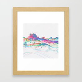 MNŁŃMT Framed Art Print