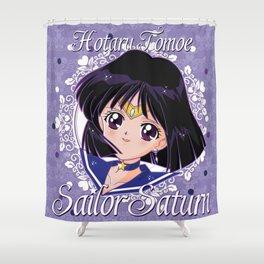 Deep Violet Shower Curtain