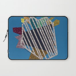 Heartstrings (blue) Laptop Sleeve