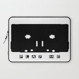 Cassette Tape Play Me Laptop Sleeve