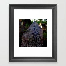 Merging Seasons Framed Art Print
