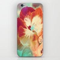 tiki iPhone & iPod Skins featuring Tiki Tiki by Ginger Del Rey