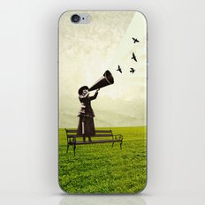 singing birds iPhone & iPod Skin