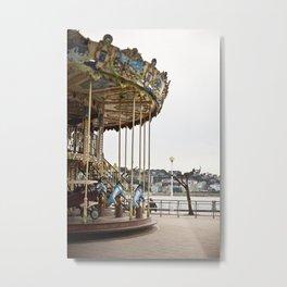 Carrusel Metal Print