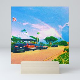 Florida Rainbow Mini Art Print