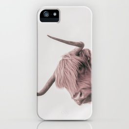 Turn Back Bull iPhone Case