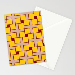 Optical Illusion Crosses Dots Phantasm Delusion Stationery Cards