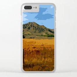 Bear Butte South Dakota Clear iPhone Case