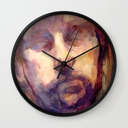 Severed Head Wall Clock